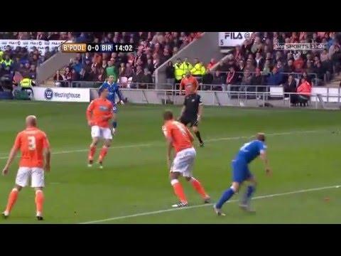 The Championship Playoffs 2011-12 Semi Final 1st Leg Blackpool vs Birmingham City