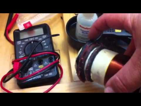 How to clean off glue on a good voice coil