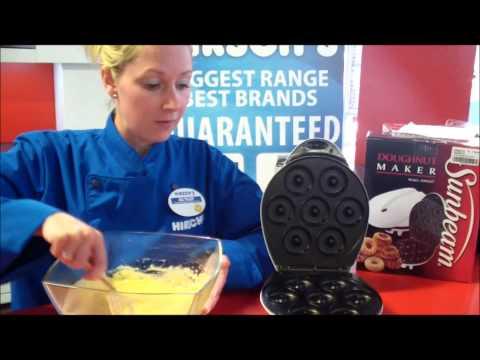 Hirsch's Milnerton bakes with the Sunbeam Doughnut Maker