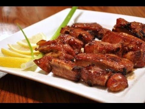 Honey Garlic BBQ Spare Ribs