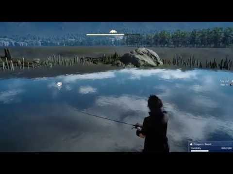 FINAL FANTASY XV How To Catch The Vesper Gar Extremely Easy
