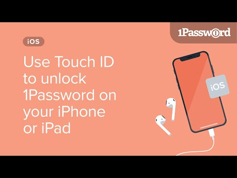 Use Touch ID to unlock 1Password on your iPhone or iPad