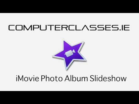 How to create a photo slideshow in iMovie tutorial