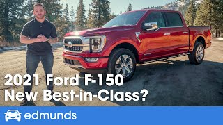 2021 Ford F-150 Review — Driving the Redesigned F-150! Hybrid, Interior, Towing, Price and More!