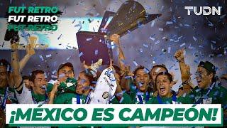 Futbol Retro: ¡El gigante de CONCACAF! ¡México se lleva la Copa Oro 2011! I USA 2-4 México I TUDN
