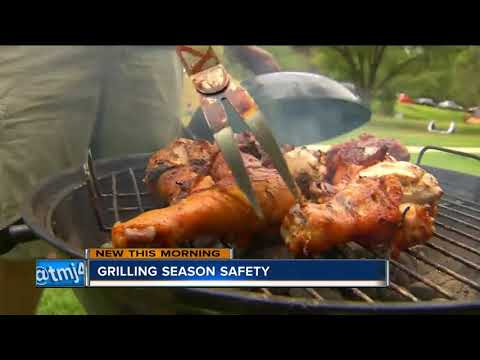 Grilling safety this Memorial Day