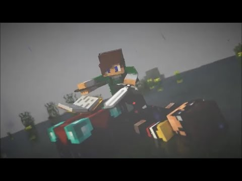 Minecraft Animated 1v10 Enderpearl Combo Blender Intro Template #750 + Tutorial