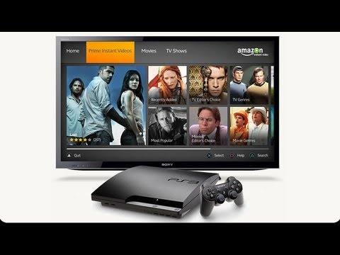 Amazon Instant Video for PS3: App Tour