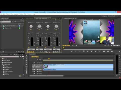 Adobe Premiere Pro CS6 best / easiest workspace (setup)