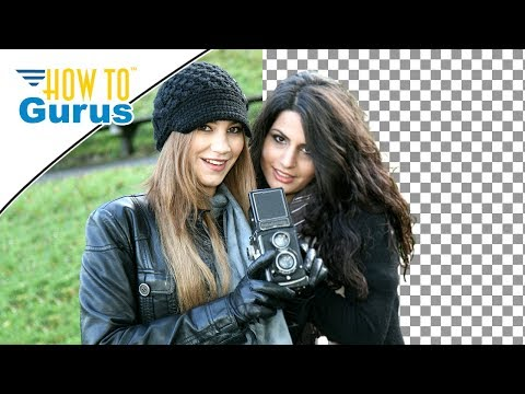 The Fastest Way Yet to Remove a Background in a Photo then Use in Photoshop or Photoshop Elements