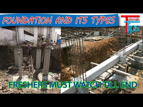 Building foundation   Types of foundation   Building Construction Part-1