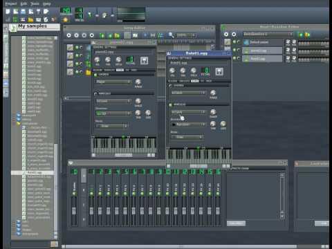 Linux Multi Media Studio - LMMS Part #4 Midi Controllers