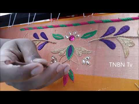 simple maggam work designs | new blouse designs | Latest Blouse Designs | TNBN Tv Live