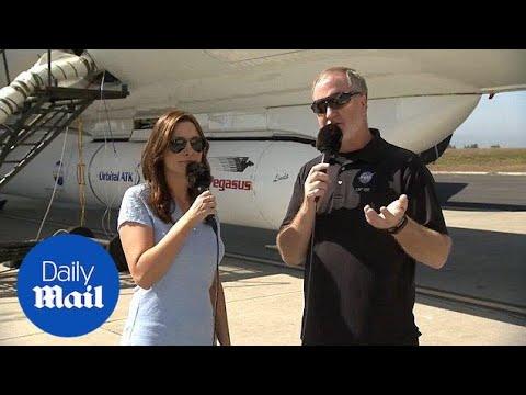Pegasus rocket prepares to carry NASA's ICON research satellite - Daily Mail