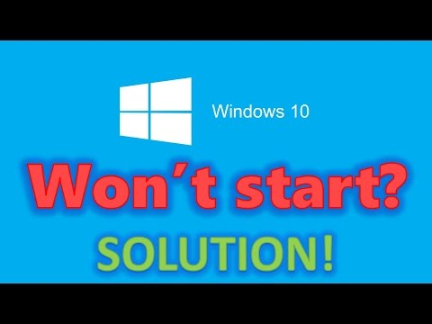 How to fix Windows 10 start-up problems - Blackscreen, Bootloop, Infinite Loading [HD 60FPS]