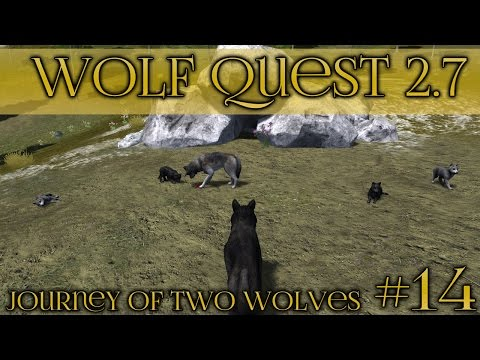 Playful Den of Wolf Pups 🐺 Wolf Quest 2.7 - Brothers Journey || Episode #14