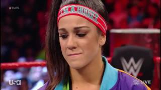 Stephanie Mcmahon Explains To  Bayley Why She Will Relinquish The Women