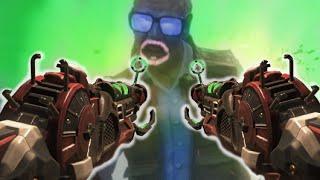"RAY GUN MARK 2 DUAL WIELD vs GEORGE ROMERO ""Call of Duty: Black Ops Zombies"" Gameplay"