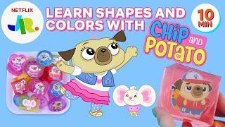DIY Chip & Potato Soap Shapes for Kids!   Netflix Jr