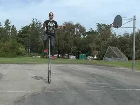 How to Ride a Unicycle : Scary Unicycle Tricks