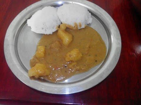 Potato Kulambu In Tamil   உருளைக்கிழங்கு குழம்பு   Tiffen Kulambu In Tamil   Gowri Samayalarai