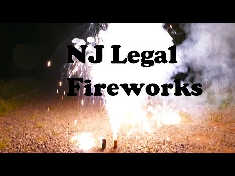 Lighting NJ Legal Fireworks