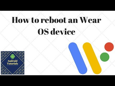 How to reboot an Wear OS device