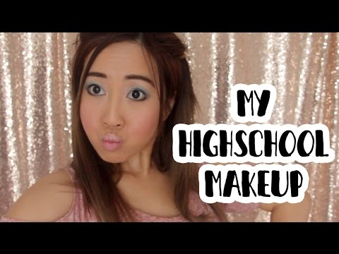 How I Did My Makeup In High School | BubzBeauty