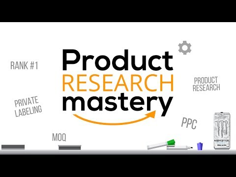 Product Research Like A Boss - Amazon FBA 101