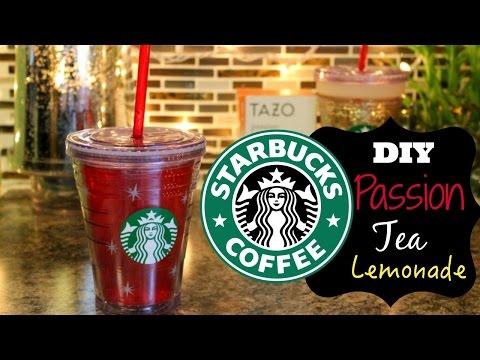 DIY Starbucks Passion Tea Lemonade