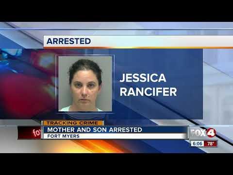 Mother, son arrested after car break-ins