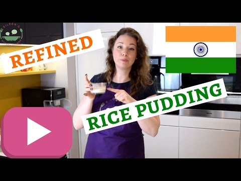INDIAN PHIRNI Recipe | Refined Indian Rice Pudding