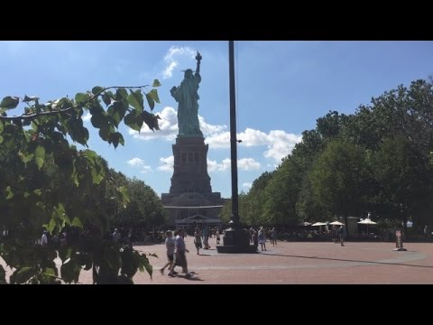 Liberty Island - Touring the Grounds Around the Statue of Liberty