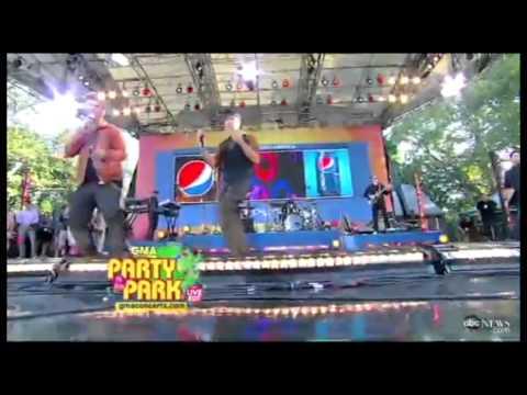 Backstreet Boys on Good Morning America 31/08/2012