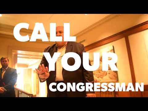 Call to Action - Call your Congressman and Senators