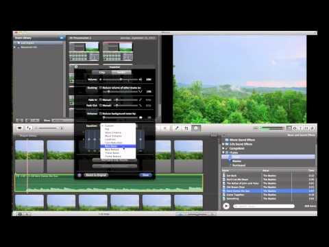 How to Add and Edit Audio in iMovie