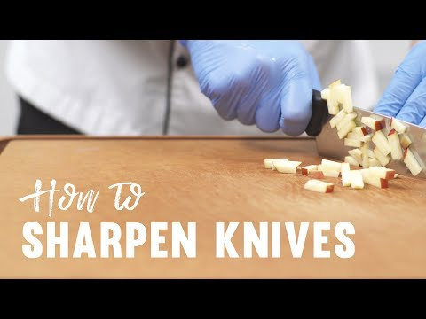How to Sharpen and Hone Your Knives