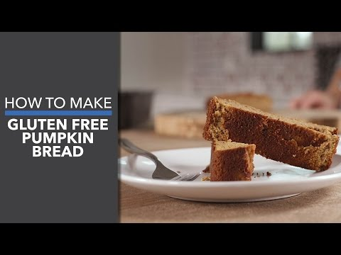 How to Make Gluten-Free Pumpkin Bread