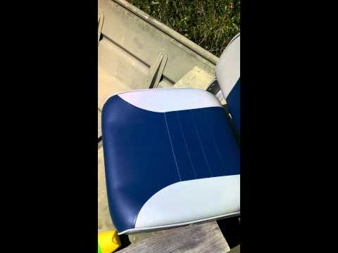 Removing mildew/mold from your boat seats.