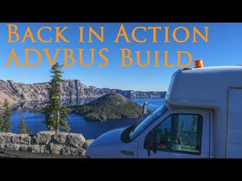 Back in Action -ADVBUS #vanlife