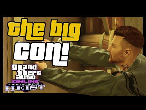 Xxx Mp4 Finishing The GTA 5 Online Diamond Casino Heist The Big Con Heist Payout 3gp Sex