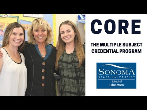 CORE: The Multiple Subject Credential Program