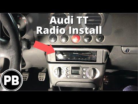1998 - 2006 Audi TT Bluetooth Stereo Install Pioneer DEH-X7800BHS
