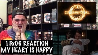 SUPERNATURAL - 13x06 'TOMBSTONE' REACTION