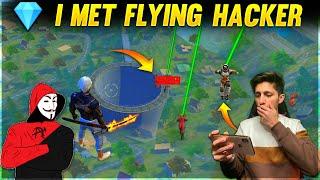 I Meet Flying Hacker Dj Alok Hacker, Wall Hacker , Diamonds Hack💎 , Speed Hack  - Garena Free Fire
