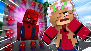 HOW TO MAKE A PORTAL TO SPIDERMAN.EXE ! Minecraft Little Kelly