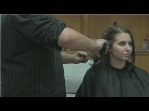 Hairstyling Tips : How to Flip Hair With a Flatiron