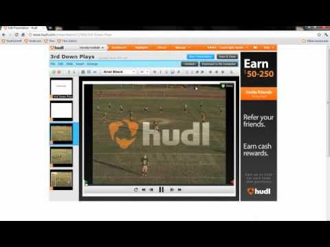 Hudl: Using Presentations