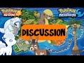 Pokemon Sun and Moon! New Pokemon & Mechanics Discussion w/ PokeaimMD, Akamaru, Blunder & Gator
