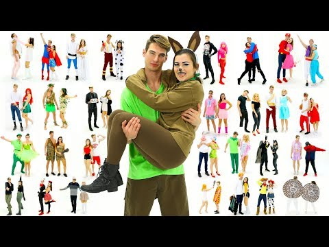 30 Last-Minute COUPLE Halloween Costume Ideas! DIY Costumes!